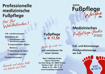 Designbuero Schmidt Faltblätter Folder